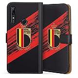 DeinDesign Étui Compatible avec Huawei P Smart Z Étui Folio Étui magnétique Maillot RBFA Produit...
