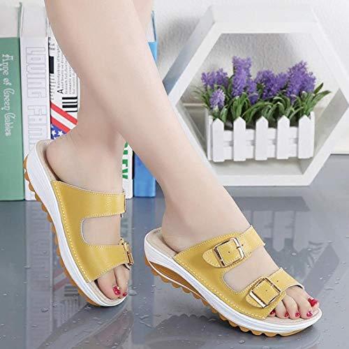 Zapatos para Mujer-Sandalias de Tacon Alto de Aguja-Elegantes-Novia-Boda-Nupcial-Vestido de Fiesta,Hebilla de una...
