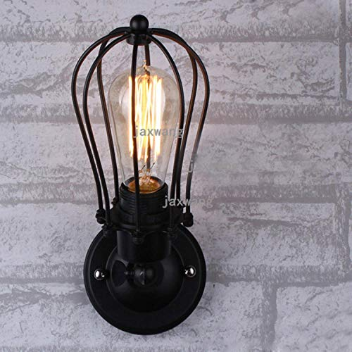 Retro wandlamp woonkamer badkamer zolder lamp lamp lamp huis modern minimalistisch ijzer antiek koffie A