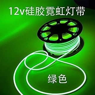 Vasten LED Neon Rope Light Flexible Hoses IP67 Decoration Light (Green)