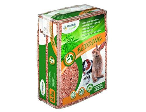 VADIGRAN Streu für Kleintiere Mulchen-Hanf 2,8kg