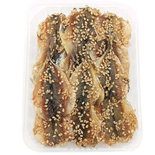 中村海産  豆アジみりん干し 4尾×4枚  8パック