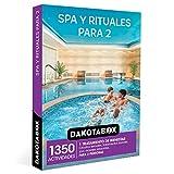 DAKOTABOX - Caja Regalo mujer hombre pareja idea de regalo - Spa y rituales para 2 - 1350 actividades como spa, tratamientos faciales, masajes y rituales de belleza