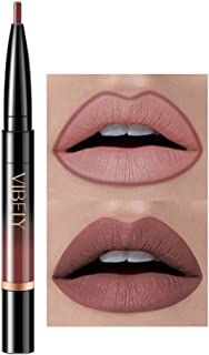 Momoxi 2019 Newest Fashion Women Lipstick Double-end Long Lasting Lipliner Waterproof Natural Lip Liner Stick Pencil 16 Color Easy to Wear Best Gift Safe Clean Bright Smooth Silky Hight Quality J