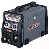 Amico 165 Amp 3-in-1 MIG/TIG/Stick Arc DC Welder, Weld Aluminum(MIG) 110/230V Dual Voltage Welding New (165 Amp)