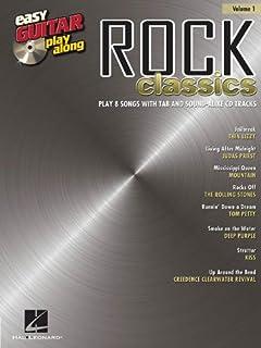 Rock Classics: Easy Guitar Play-Along Volume 1
