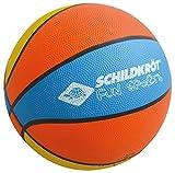 Schildkröt Funsports Balón de Baloncesto, Naranja/Amarillo/Azul, Tamaño 2, Ø 15 cm, 970162