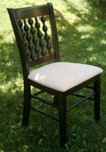Stühle Esszimmerstuhl Buche massiv wenge gebeizt Relaxstuhl Massagestuhl Küchenstuhl wenge - (3204)
