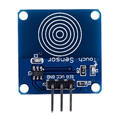 『HiLetgo 10個セット TTP223B スイッチモジュールデジタルタッチセンサー静電容量式タッチ Arduino用 [並行輸入品]』の2枚目の画像