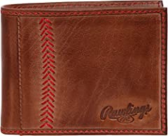 SUPPLE LEATHER - This buttery-smooth and sturdy bi fold is finely crafted to secure your essentials and is built for compact convenience and nostalgic flair. FEATURES – Interior features include a spacious single bill compartment holder, 2 side poc...
