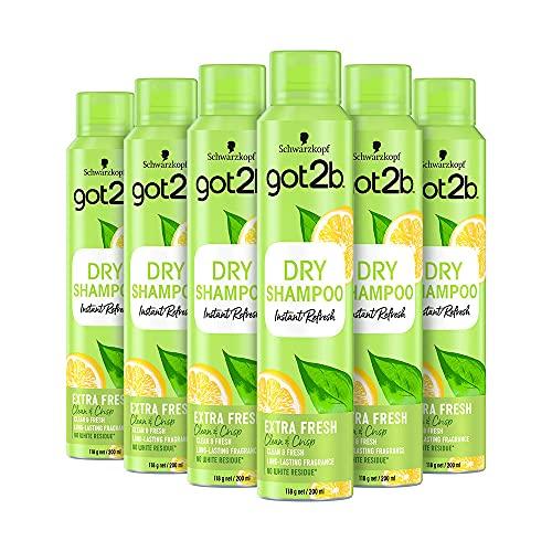 Schwarzkopf got2b Fresh It Up Extra Fresh Dry Shampoo, Refreshes Hair...