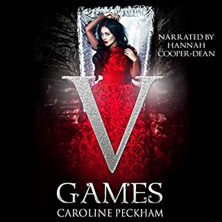 V Games audiobook cover art