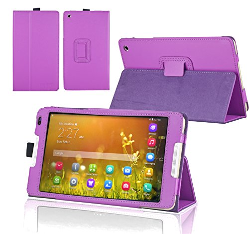 Navitech Lilanes Hülle Cover mit Multi Stand Funktion für das Huawei MediaPad M1 8.0