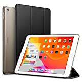 ESR for iPad 7th Generation Case, Yippee Trifold Smart Case for iPad 10.2' 2019 with Auto Sleep/Wake Function, Lightweight Multiple Viewing Stand Case with Hard Back Cover - Black