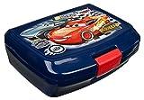 Scooli CAAD9900X - Brotzeitdose aus Kunststoff mit Clip, leicht zu öffnen und zu schließen, BPA und Phthalat frei, Disney Pixar Cars, ca. 13 x 17 x 6 cm