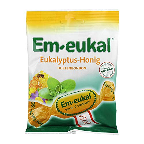 Em-eukal Bonbons Eukalyptus-Honig zuckerhaltig, 75 g