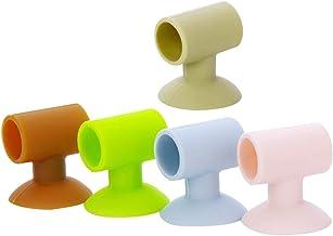 BESPORTBLE 5 peças de silicone para batente de porta, maçaneta de porta amortecedor, maçaneta de porta para batente de por...
