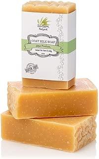 Essential Oil Blend - Handmade Goat Milk Soap Bars - For Eczema, Psoriasis & Dry Skin. 100% Natural & Gentle For Men, Women, Teens & Kids. (3 BARS 4 oz EACH)