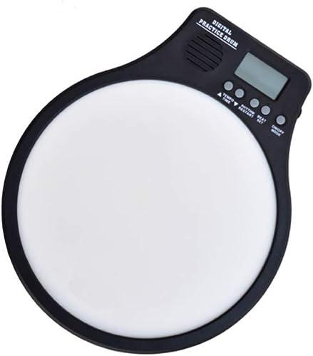 LINGLING-Tambour Batterie muette électronique Cadeau Garçon Fille avec Sac (Couleur   Blanc, Taille   Drum)