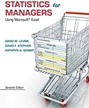 Statistics for Managers Using Microsoft Excel Plus NEW MyLab Statistics with Pearson eText -- Access Card Package (7th Edi...