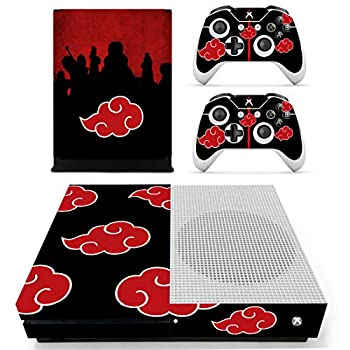 Decal Moments Xbox One S Console Skin Vinyl Decal Sticker Protective for Xbox One S Slim  Console Controllers Red Cloud