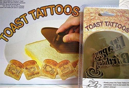praktische Artikel Toast Stempel Toaststempel Happy Birthday Geburtstag Deko Neu GOR 71/3008 MB