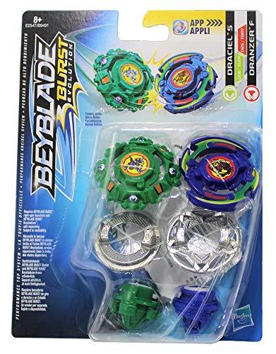 Beyblade Hasbro Burst Kreisel 2er Dual Pack Draciel S & Dranzer F