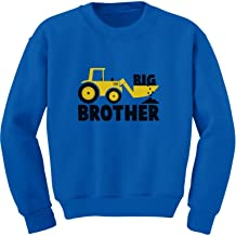 TeeStars - Big Brother Gift for Tractor Loving Boys Toddler/Kids Sweatshirts