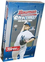 2008 Bowman Chrome Baseball Cards Factory Sealed Hobby Box (Loaded with Rookies & Prospects - 1 Autograph/box) (Look for Dominic Brown Rookie)