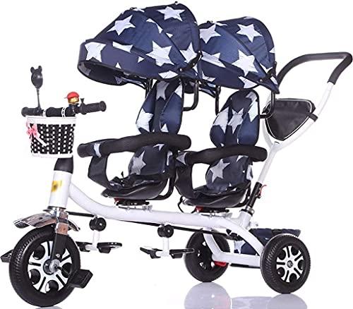 DUWEN Cochecito portátil Plegable, Transporte de bebé de Alta Vista, Puede Sentarse liviano reclinable, Cochecito de bebé Plegable de Lujo con Cochecito Anti-Shock.