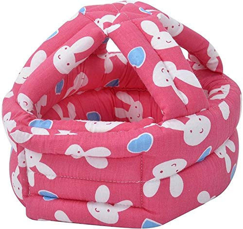 Salma's Tinytots Kids Safety Protection Cushion Bumper Head Guard (Red)