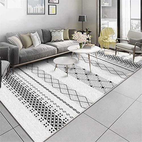 WQ-BBB Alfombras Endotérmica Rugs Decoración geométrica de Estilo étnico alfombras pie de...