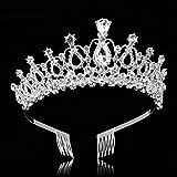 Immagine 2 maoxintek tiara corona di cristallo