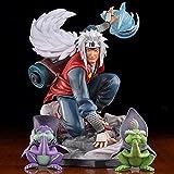 19Cm Anime Naruto Figura Toad Master Jiraiya Gk Series Figuras De Acción Modelo Adorno Juguetes Regalos De Cumpleaños