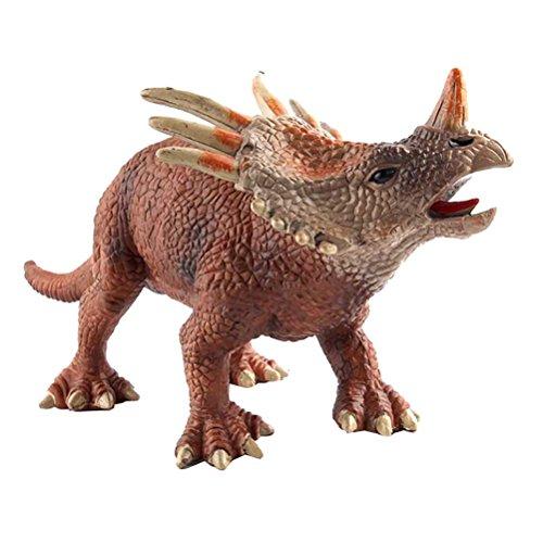TOYMYTOY 30cm Grandi Giocattoli di Dinosauro Triceratops - Realistico Action Figures per Ragazzi