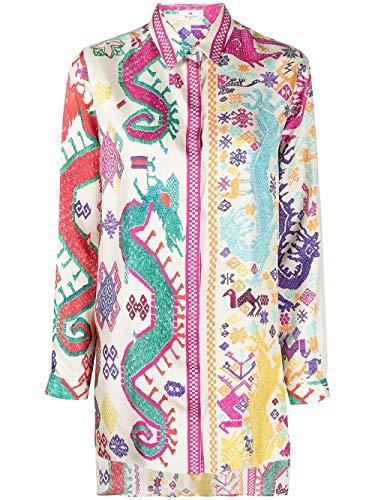 Etro Luxury Fashion Damen 1430442808000 Beige Seide Hemd | Ss21