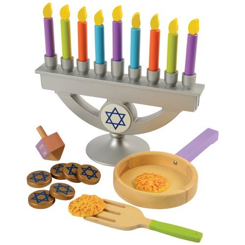 KidKraft Chanukah Play Set, Hanukkah, 22 Piece and More