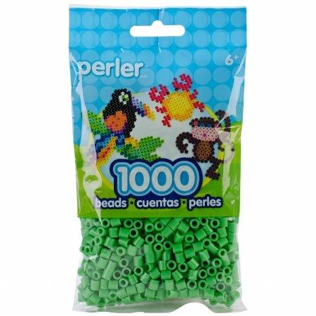 Perler Beads 1000/Pkg-Bright Green