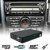 Interface adaptateur USB SD AUX Changeur de CD stéréo de voiture Kit mini Cooper R50R52R53Boost radio