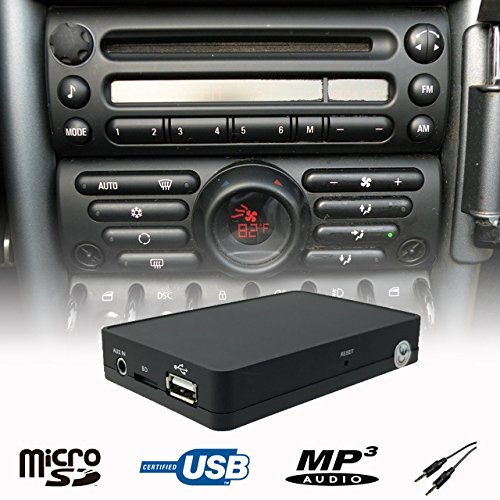 Stereo USB SD AUX CD Changer Ada...