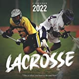 Lacrosse Calendar 2022: Calendar...