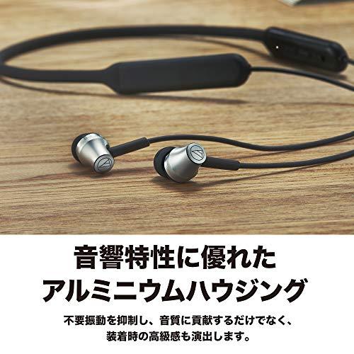 audio-technicaワイヤレスイヤホンBluetoothリモコンマイク付きATH-CKR700BT