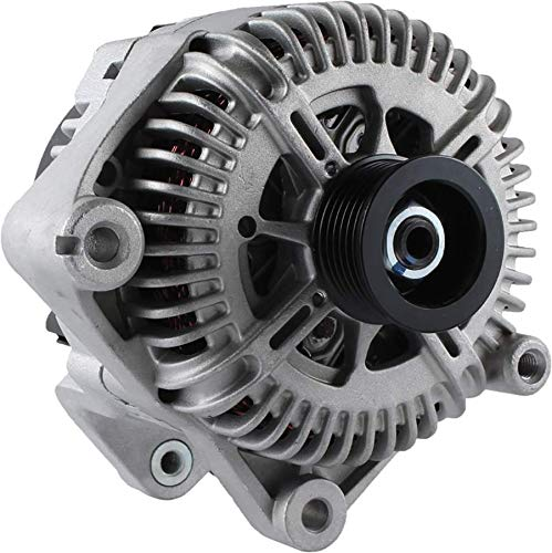 New Alternator for 4.4L BMW 545 SERIES 04 05 2004 2005 12-31-7-524-972, AL9357X 180Amp Internal Fan Type Solid Pulley Type Internal Regulator CW Rotation 12V