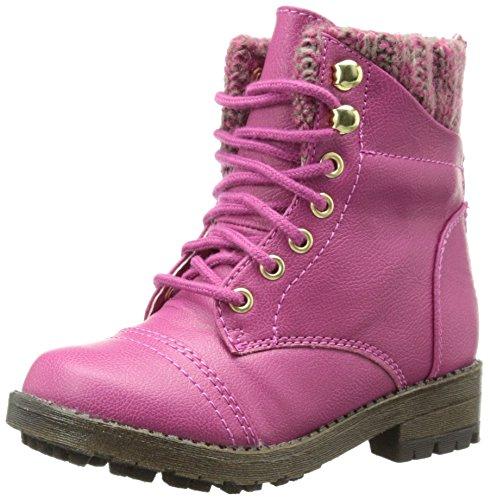 Steve Madden Tjacksin Boot (Toddler/Little Kid),Pink,11 M US Little Kid