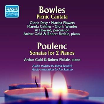 Bowles: A Picnic Cantata - Poulenc: Sonata for 2 Pianos