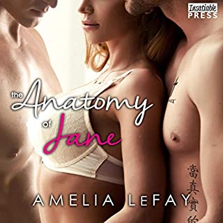 The Anatomy of Jane audiobook cover art