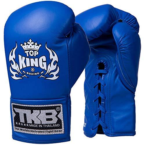 TOP King Boxhandschuhe, Wettkampf, blau Größe 10 Oz
