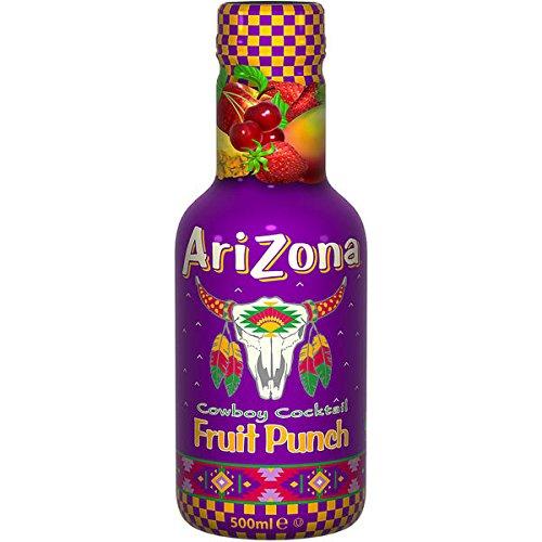 12 Flaschen Arizona Cowboy Cocktail Fruit Punch a 500ml inc. 3,00 Euro EINWEG Pfand