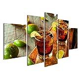 islandburner Bild Bilder auf Leinwand Rum und Cola Cuba