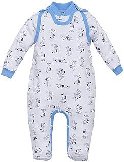 MAKOMA Baby Schlafstrampler Forest Junge Mädchen Größe 56 62 68 74 80